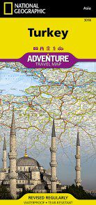 Turkey Travel Map by National Geographic
