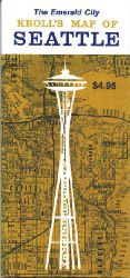 Seattle Street Map by Kroll