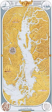 Inside Passage Map by Sobay