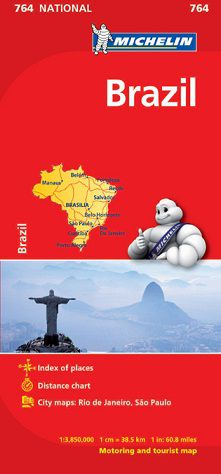 Brazil Map by Michelin