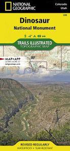 Dinosaur National Monument Map- CO & UT
