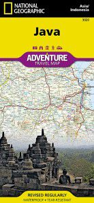 Java & Jakarta Travel Map by National Geographic