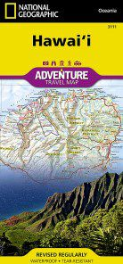 Hawaii Travel Map by National Geographic