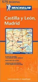 Castilla y Leon Madrid - Spain Travel Map by Michelin
