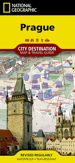 Prague Destination Map by National Geographic