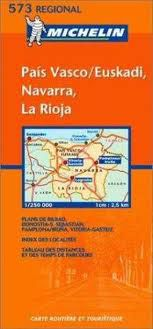 Pais Vasco/Euskadi - Regional Spain Travel Map by Michelin