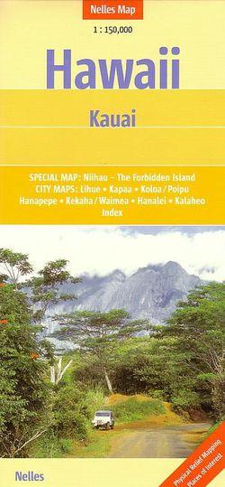 Kauai Travel Map by Nelles