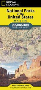 US National Parks Map (Folded)