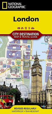 London Destination Map by National Geographic