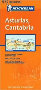 Asturias, Cantabria - Spain Travel Map by Michelin