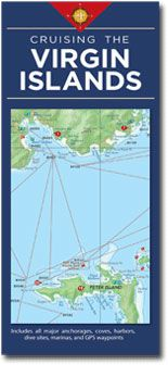 Virgin Islands Cruising Map by Fine Edge