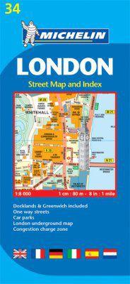 London Street Map by Michelin