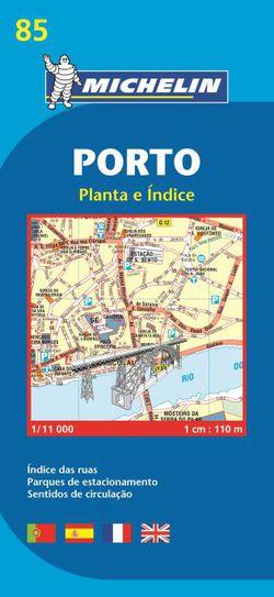 Porto City Map by Michelin