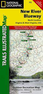 New River Blueway Map - NC, VA, WV