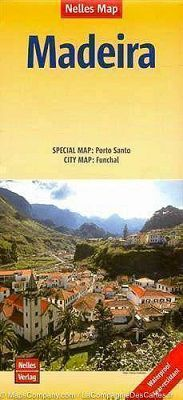 Madeira Travel Map by Nelles