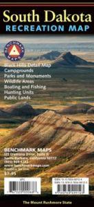 South Dakota Recreational Road Map by Benchmark