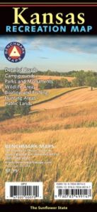 Kansas Recreational Road Map by Benchmark