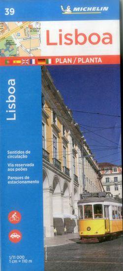 Lisbon City Map by Michelin