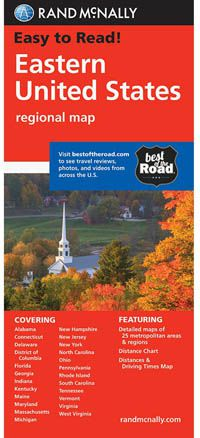 Eastern US Road Map l Rand McNally