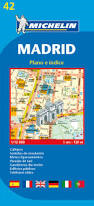 Madrid Street Map by Michelin