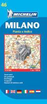Milan Street Map by Michelin