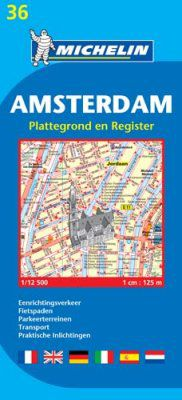 Amsterdam Street Map by Michelin