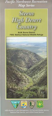 Steens High Desert Country Map - OR