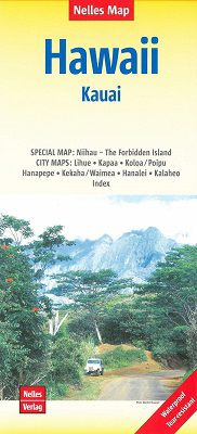 Kauai Travel Map by Nelles