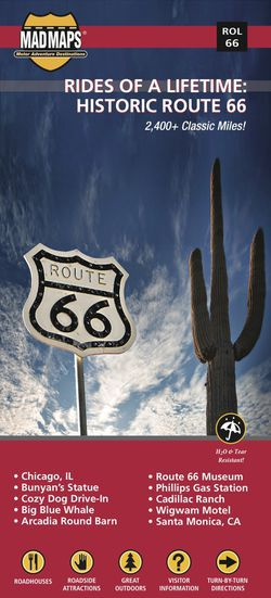 Route 66 Map by Madmap