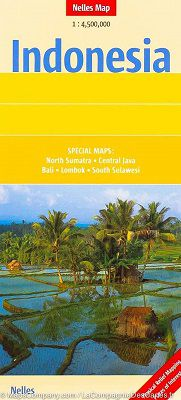 Indonesia Travel Map by Nelles