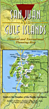 San Juan & Gulf Islands Recreation Map