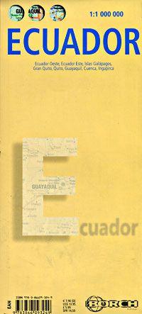 Ecuador Travel Map by Borch
