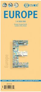 Europe Road Map by Borch