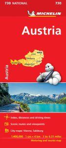 Austria Travel Map l Michelin