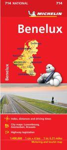 Benelux Map by Michelin