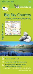 Big Sky Country Regional Map l Michelin