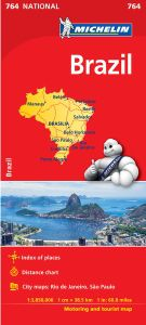 Brazil Travel Map l Michelin