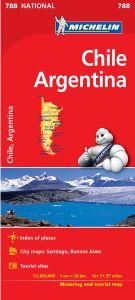 Chile & Argentina Travel Map l Michelin