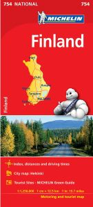 Finland Map by Michelin