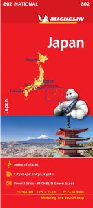 Japan Map by Michelin