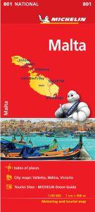 Malta & Gozo Travel Map l Michelin