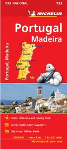 Portugal Travel Map by Michelin