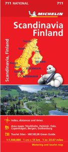 Scandinavia Travel Map by Michelin