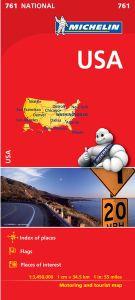 U.S. Road Map, folded by Michelin