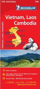 Vietnam, Cambodia, Laos by Michelin