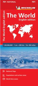 World Map Folded by Michelin
