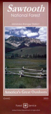 Sawtooth National Forest Map: Minidoka Ranger District - ID