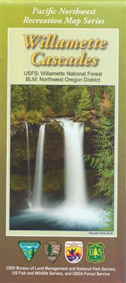 Willamette Cascades Map - OR