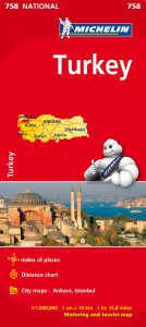 Turkey Travel Map by Michelin