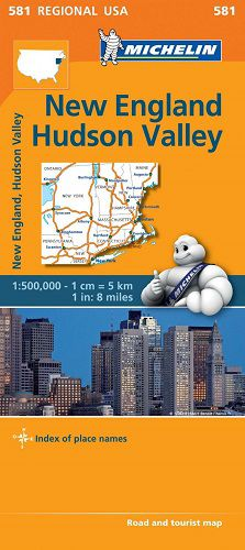 New England & Hudson Valley by Michelin